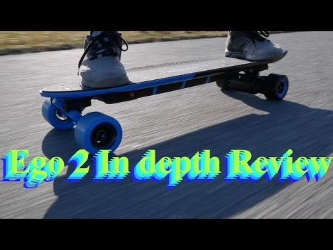Electric Skateboard In depth Review (Yuneec Ego 2 Longboard)