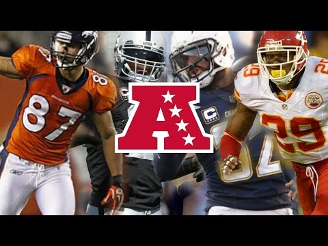 "NFL AFC West Pump Up 2017 ll ""Technicolour Beat"" ll Chiefs Raiders Broncos Chargers Pump Up 2017"