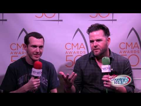 The 50th Annual CMA Awards Broadcast: David Nail Interview