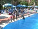 blue village pool in pascha bay