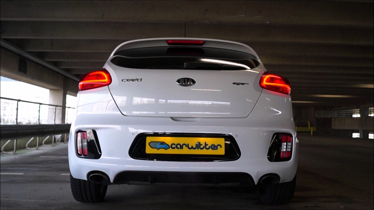 Awesome Kia Pro Ceed GT Exhaust Sound Revving  YouTube