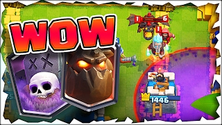 I WASN'T EXPECTING THAT!? • Clash Royale LEVEL 8