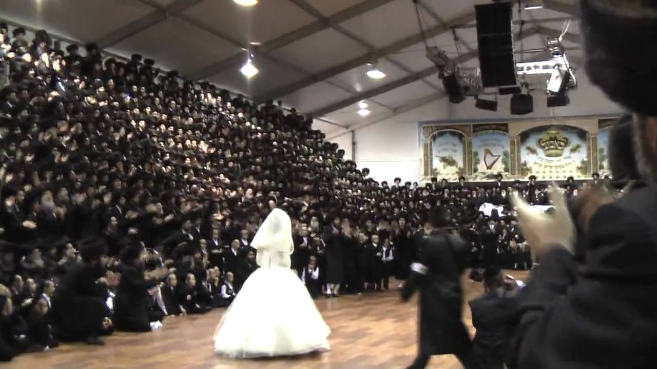 Bobover Wedding In Floyd Bennett Field 2009 15/16 Watch in HD