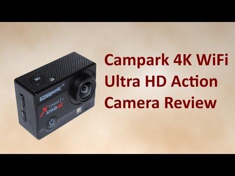 Campark 4K WiFi Ultra HD Action Camera