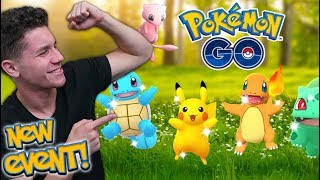 NEW KANTO POKÉMON GO EVENT! Throwback to Launch Week! (NO Mass Shinies)