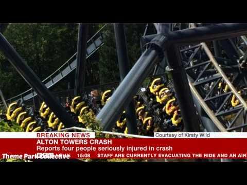 The Smiler Crash - BBC News Reports