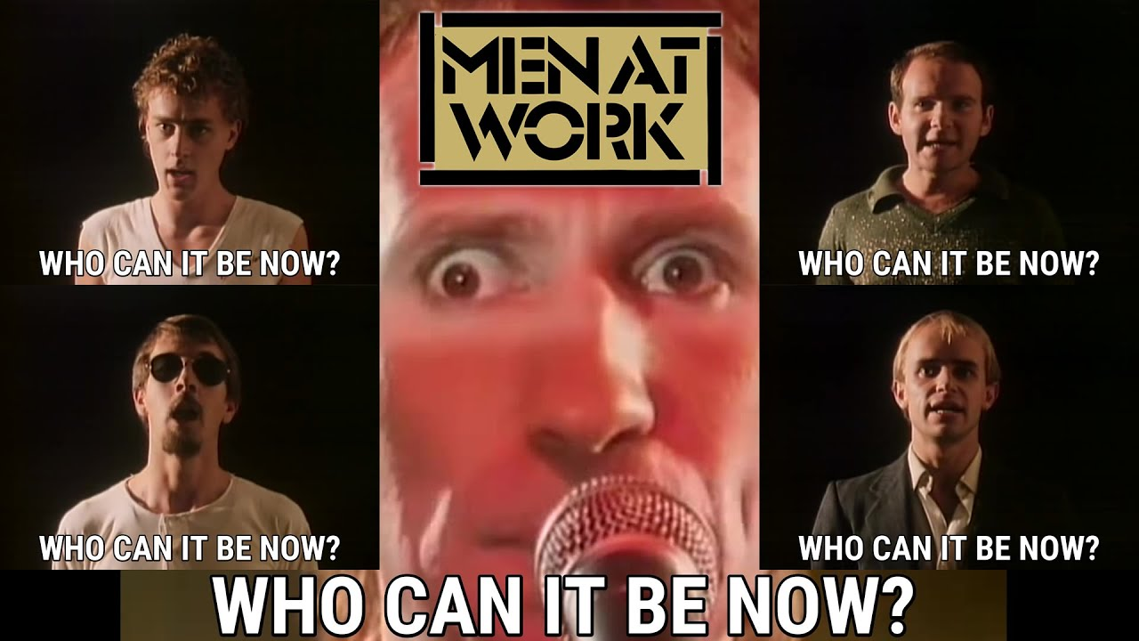 MEN AT WORK ▶ Who Can It Be Now? (1981) 1080pᴴᴰ