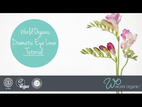 Dramatic Liquid Eye Liner Tutorial - World Organic