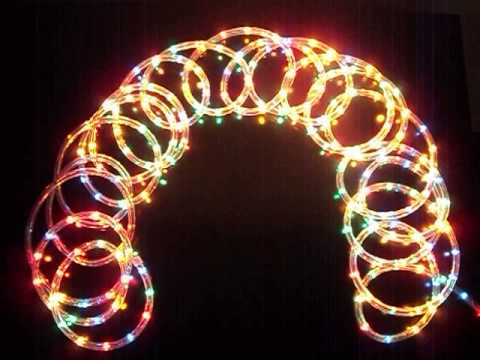 Manguera de luces decoracion fiestas youtube - Manguera luces navidad ...