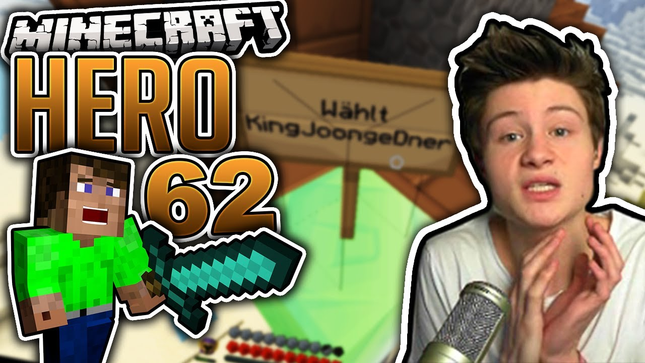 Dner joonge  WÄHLT KING JOONGE DNER | Minecraft HERO #62 | Dner - YouTube