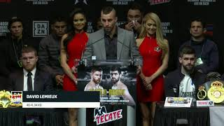 David Lemieux aim to 'get in the mix' with Canelo Alvarez (Video: Golden Boy Promotions)