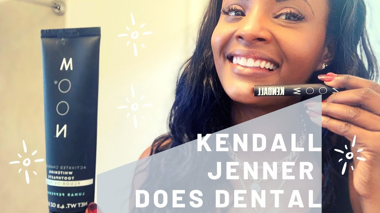 Get Ready With Me And Kendall Jenner S Moon Whitening Toothpaste