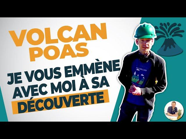 Volcan Poas : Je vous emmène avec moi à sa découverte !