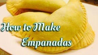 How To Make Picadillo Filled Empanadas
