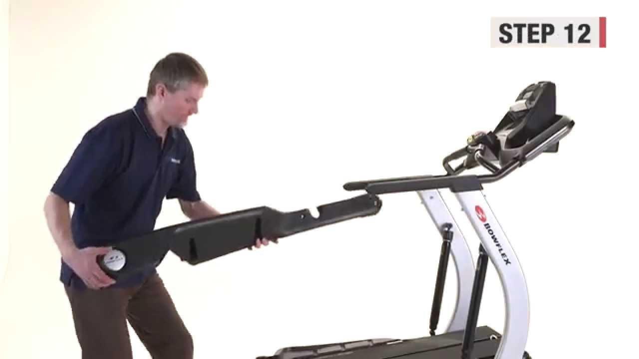 how to take a bowflex apart