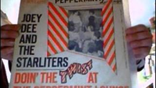 Joey Dee and the Starliters - Sticks And Stones (ROULETTE LP)