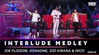 Medley - Joe Flizzow, SonaOne, Alif, Zizi Kirana, Aman Ra, Juzzthin, Lil J, Balan & Nico | #AJL33