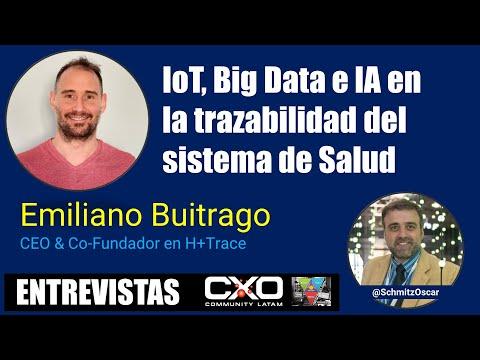 🎙️ Entrevista Emiliano Buitrago (H+Trace) 💪 IoT, Big Data e IA: Trazabilidad del sistema de Salud 🚀