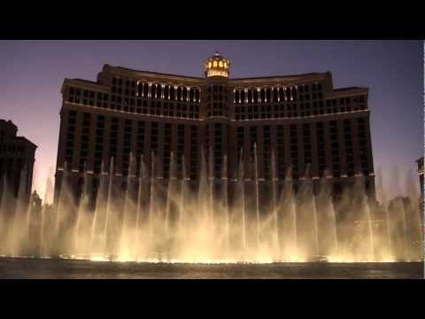 "Bellagio Fountains, Las Vegas Nevada - ""Time to say goodbye"" [in HD 1080p Stereo]"