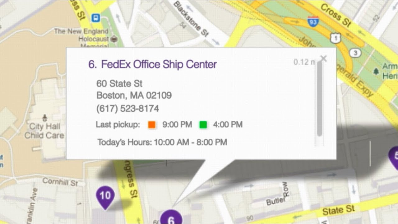 Fedex re imagined with google maps youtube fedex re imagined with google maps publicscrutiny Images