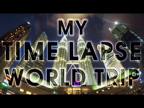 ЗА ЧТО Я ЛЮБЛЮ ПУТЕШЕСТВИЯ! 12 стран. Таймлапс 2017