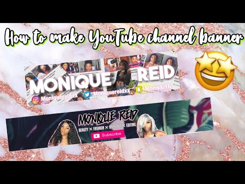 HOW TO MAKE YOUTUBE CHANNEL BANNER | SIMPLE & EASY!