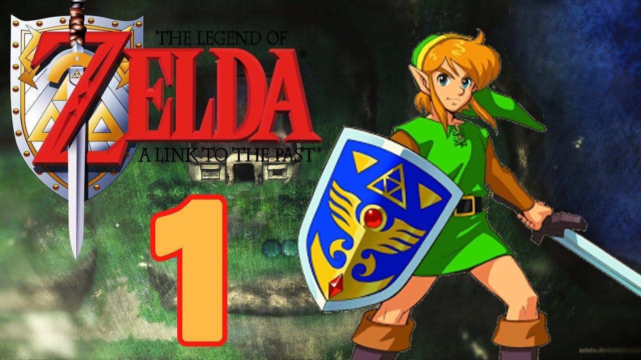 Let's Play The Legend of Zelda A Link to the Past Part 1: Die fiesen Pläne  des Zauberers Agahnim