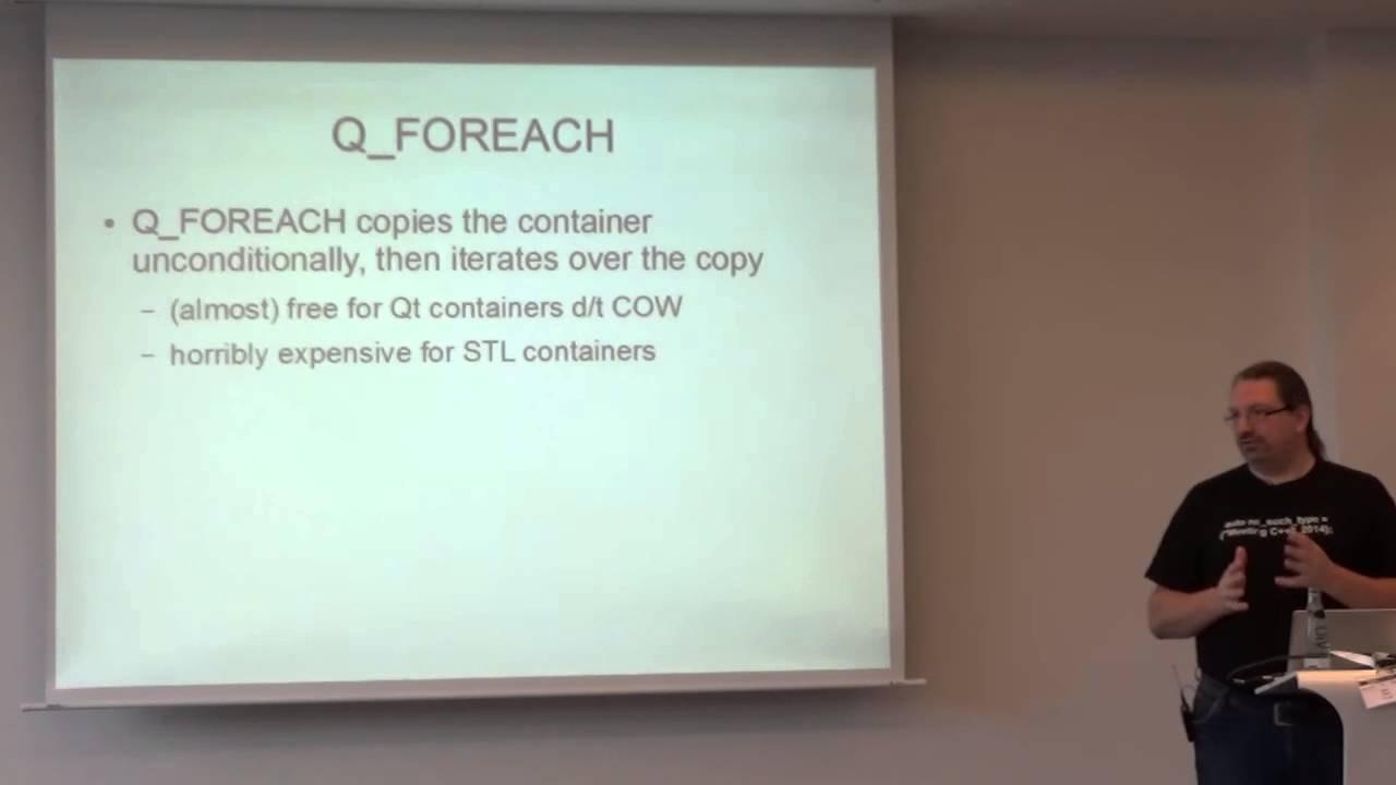 qt : Standard C++