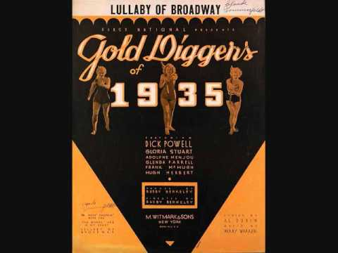 The Dorsey Brothers - Lullaby of Broadway (1935)