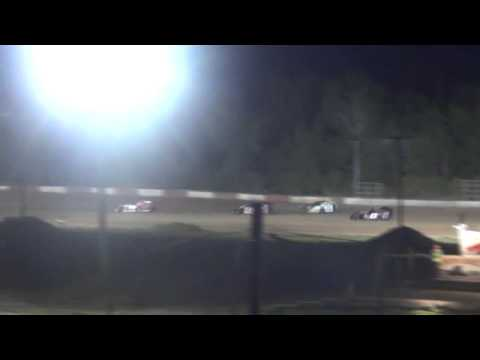 Evasive maneuvering Jesse Glenz at central wisconsin raceway