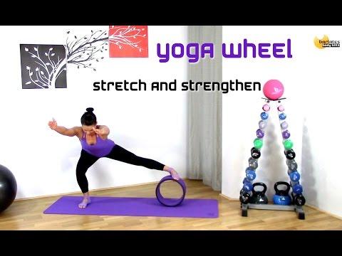FREE Yoga Wheel Stretch and Strengthen BARLATES BODY BLITZ with Linda Wooldridge