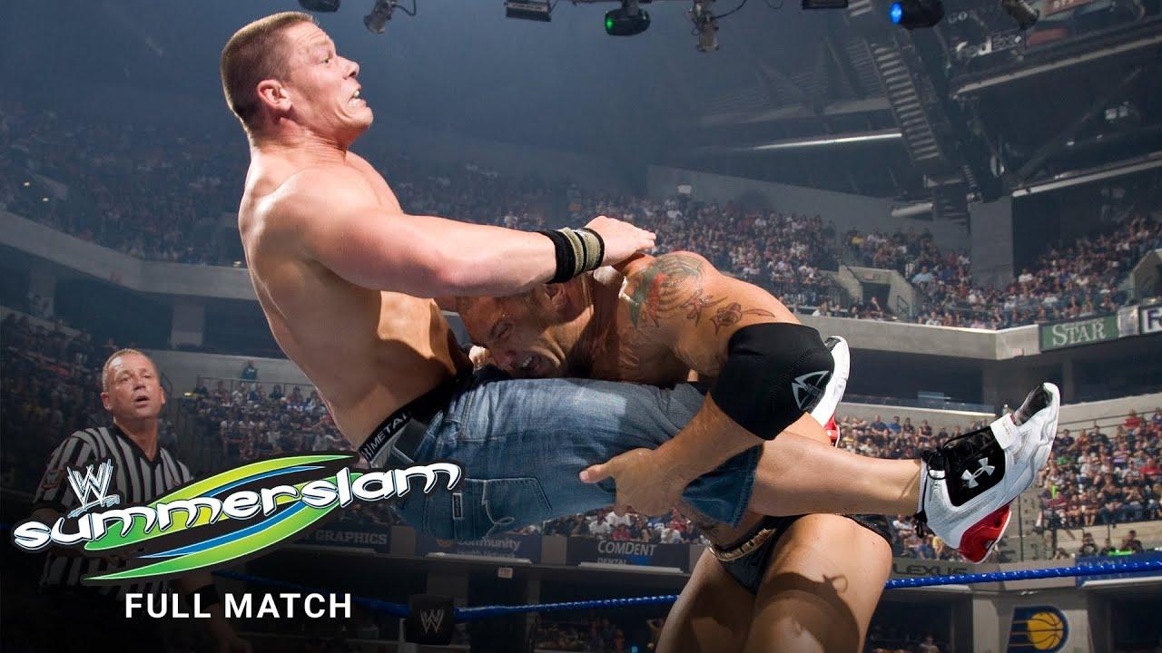 FULL MATCH: John Cena vs. Batista: SummerSlam 2008