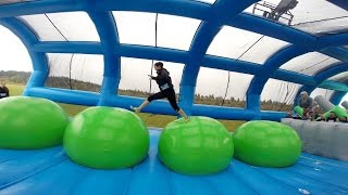 Insane Inflatable 5K Seattle 2016 (GoPro)