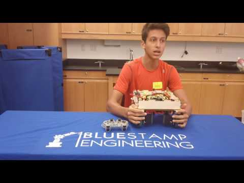 Frederick's Final Video - Swerve Drive Robot!