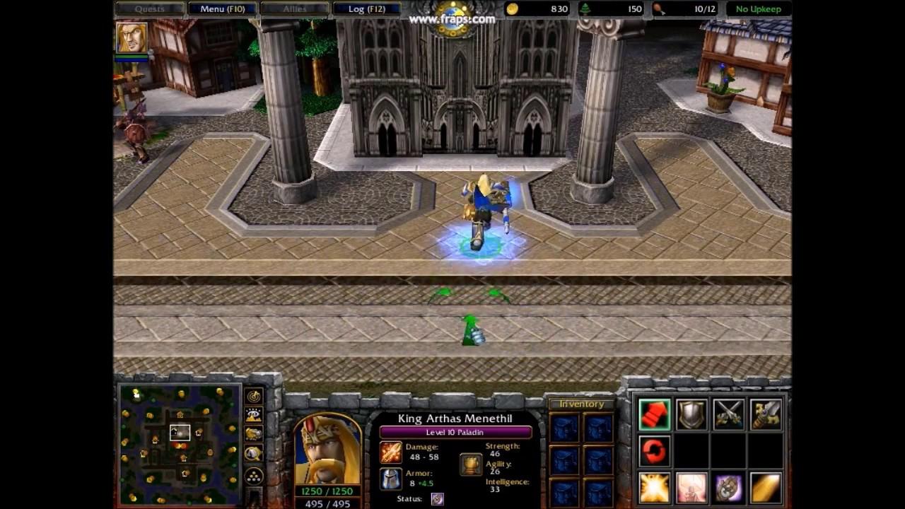Warcraft 3: Ujimasa Presents King Arthas Menethil of Lordaeron