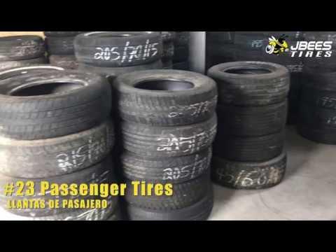 JBees #23 Passenger Tires