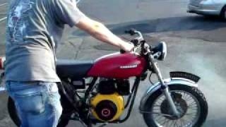 John's diesel bike
