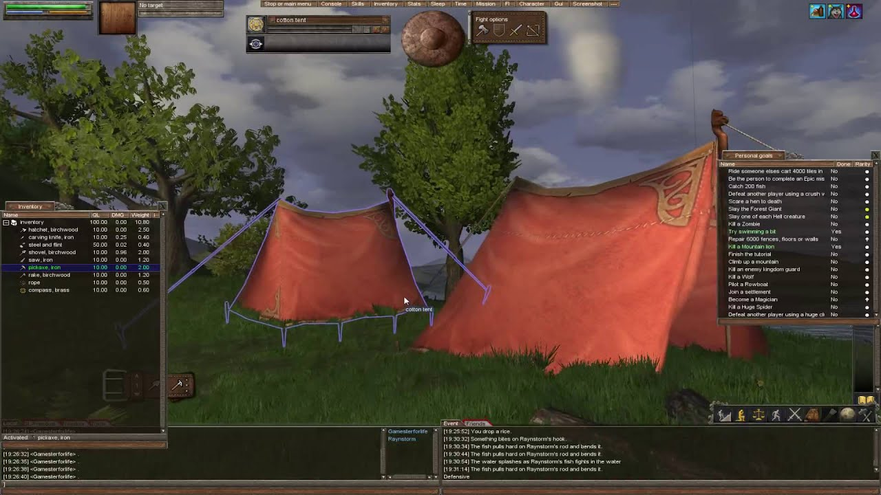 Wurm Unlimited - Tutorial - Episode 2 - Tents Digging u0026 Mining & Wurm Unlimited - Tutorial - Episode 2 - Tents Digging u0026 Mining ...