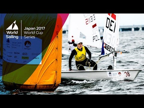 Full Laser Radial Medal Race - Sailing's World Cup Series | Gamagori, Japan 2017