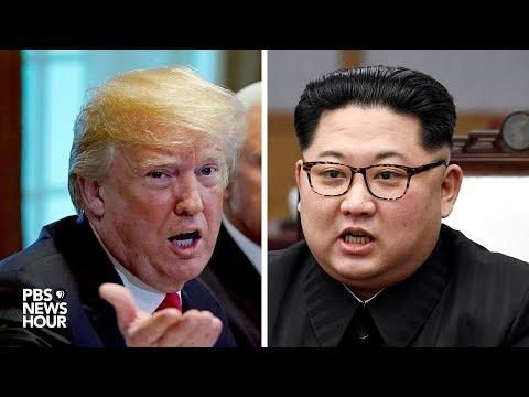 WATCH: President Trump and North Korean leader Kim meet in Singapore