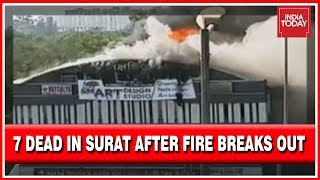 Breaking | 7 Dead In Surat After Massive Fire At Coaching Centre, Students Jump Off Building