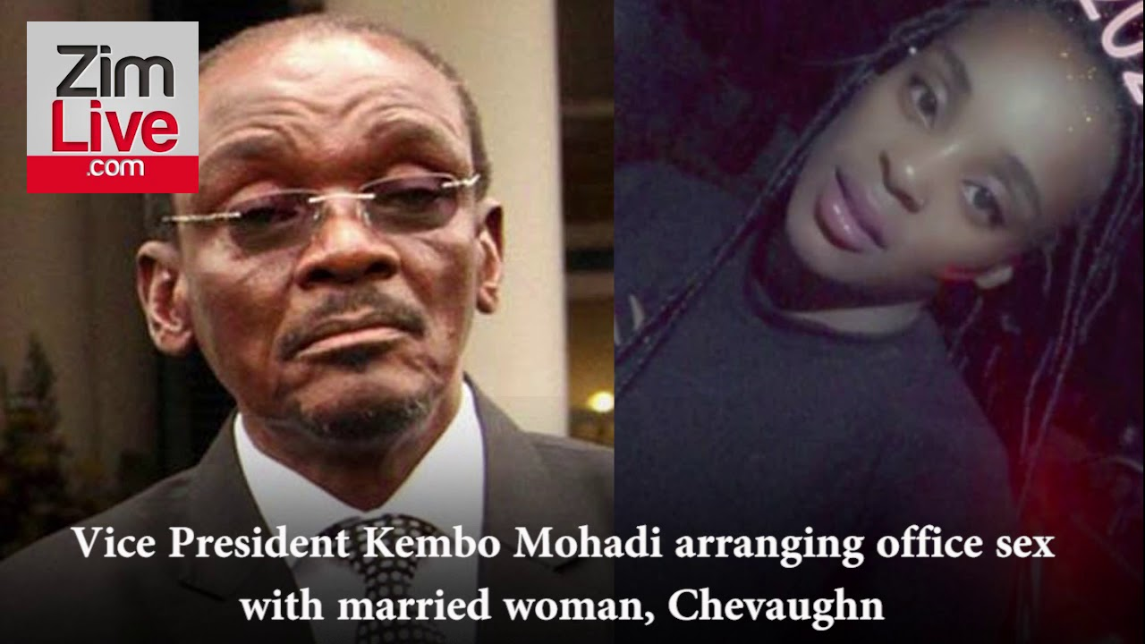 Part 1: Vice President Kembo Mohadi asks married woman