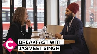 Breakfast with Jagmeet Singh