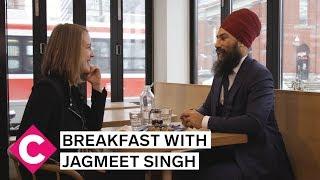 Breakfast with Jagmeet Singh