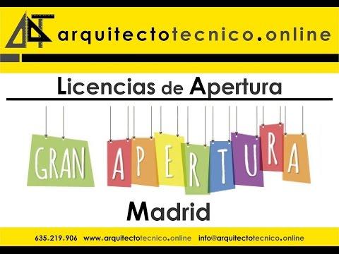 Licencias Apertura Madrid Licencia Ambiental Proyecto Local Madrid Precios Declaración Responsable