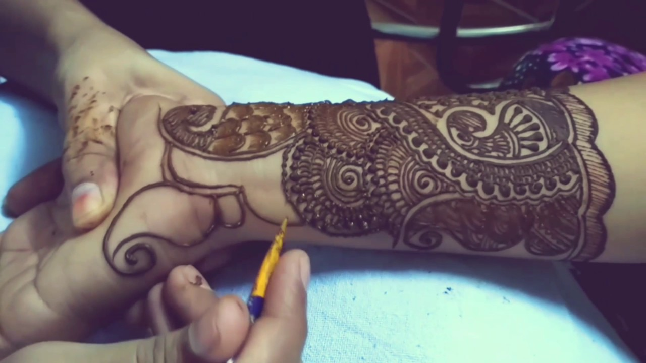 Simple Dulhan Mehndi Design Youtube