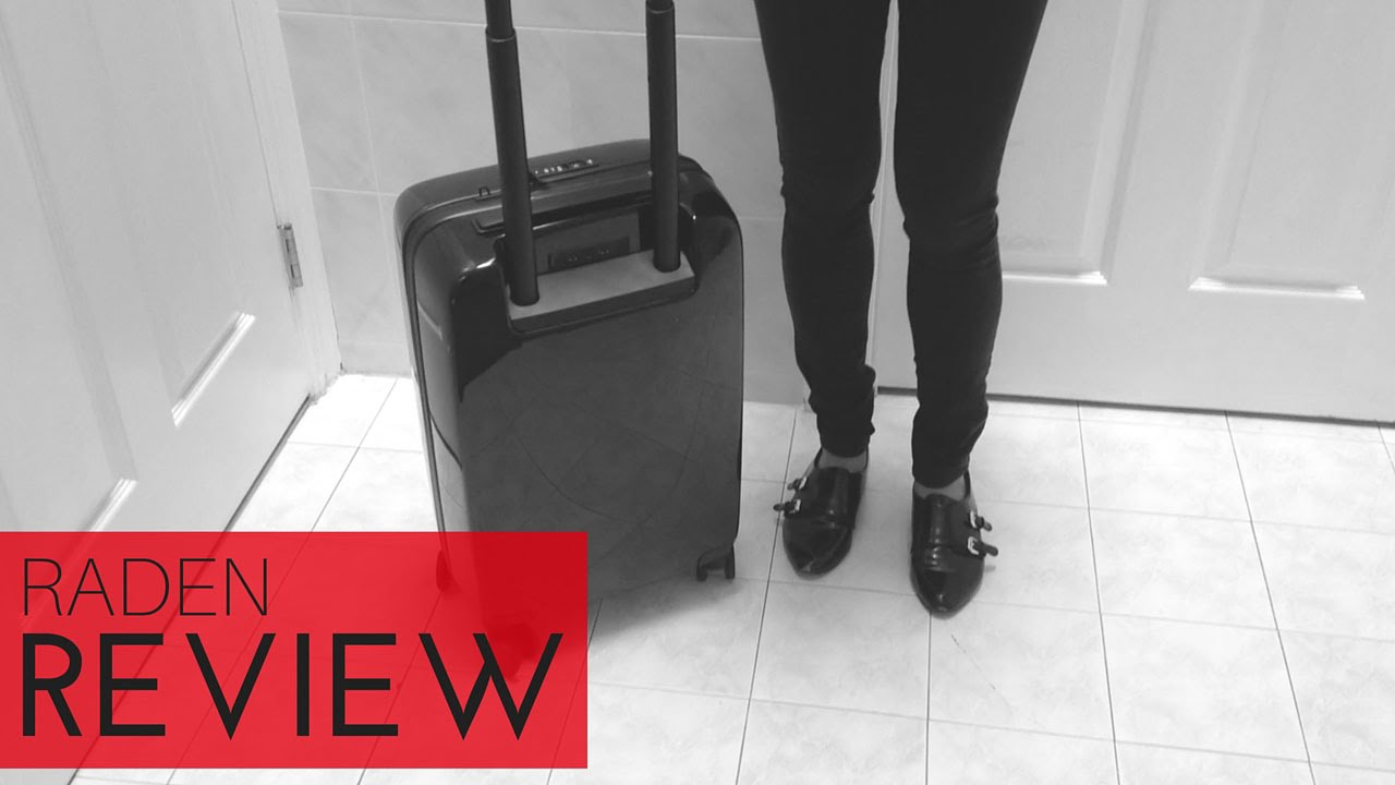 272f0f327 Raden A22 Carry On Review: Is This The Best Smart Luggage You Can Buy? -  Luggage Council