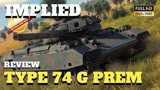 War Thunder - Tank Review - Japans Type 74 G Premium Panzer eine gute Investition