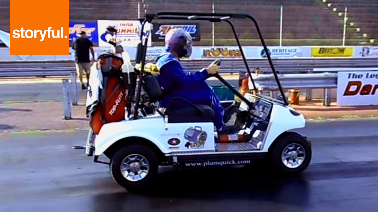 The World's Fastest Golf Cart - YouTube on