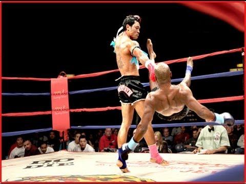 Muay Thai Shin Kick